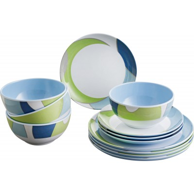 Melamina set - Pacific (12pz)
